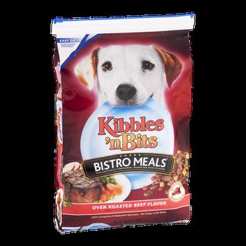 Kibble 'n Bits Bistro Meals Dog Food Oven Roasted Beef Flavor
