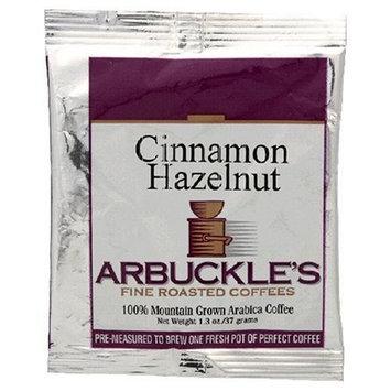 Arbuckle's Fine Roasted Coffee, Cinnamon Hazelnut, Ground Coffee, 1.3-Ounce Bags (Pack of 30)