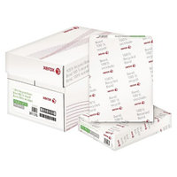 Xerox 8-1/2 x 11 100% Recycled Bond Paper, 92 Brightness, 20lb- White