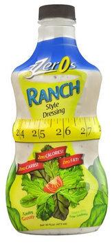 3Zeros Salad Dressing Gluten Free Ranch 16 fl oz