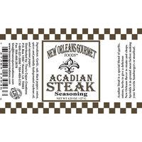New Orleans Gourmet Acadian Steak Seasoning