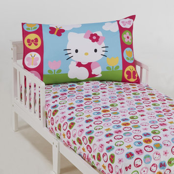 Crown Crafts Infant Products, Inc. Hello Kitty 2 Piece Toddler's Sheet Set - CROWN CRAFTS INFANT PRODUCTS, INC.