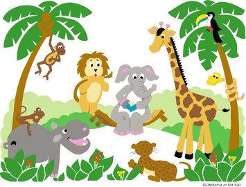 Elephants on the Wall E 5-1152 Small Jungle Story