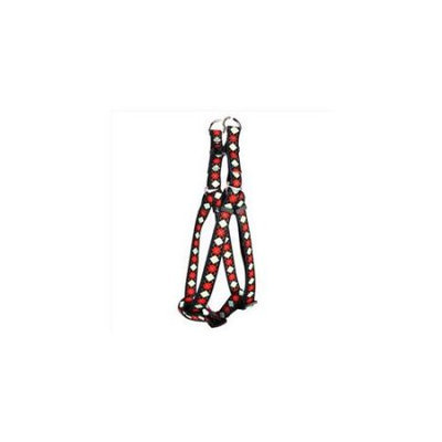 Yellow Dog Design Red Argyle Step-In Harness