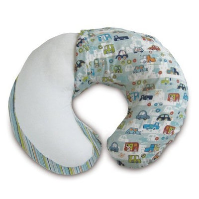 Boppy Cottony Cute 2-Sided Slipcover, Crazy Cars (Discontinued by Manufacturer)