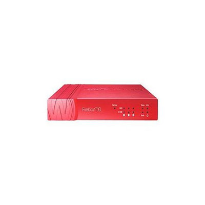 WatchGuard Firebox T10-W - Security appliance - with 1 year Security Suite - 3 ports - 10Mb LAN, 100Mb LAN, GigE - 802.1