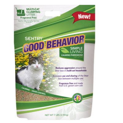 Sentry SENTRYA Good Behavior Simple Living Cat Litter