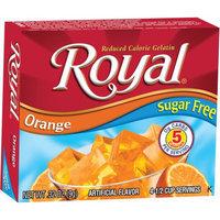 Jelsert Royal Orange Reduced Calorie Gelatin, 0.32 oz, (Pack of 12)