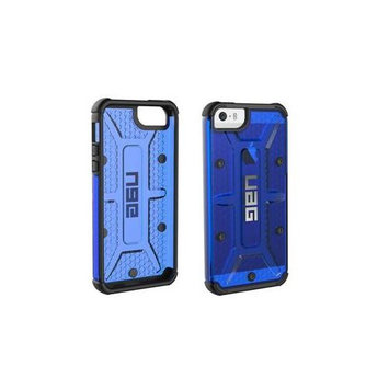 Urban Armor Gear IPH5S/SE-CBT Cobalt - Back cover for cell phone - rugged - cobalt - for Apple iPhone 5 5s SE