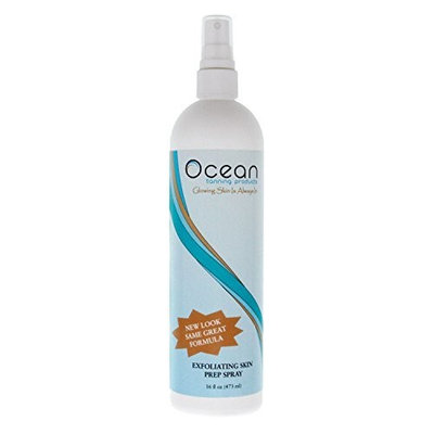 16 oz (pint) Pump Spray Bottle of OCEAN Exfoliating Skin Prep Spray