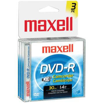 Maxell DVD-R (8cm) x 3 1.4 GB Storage Media Jewel Case