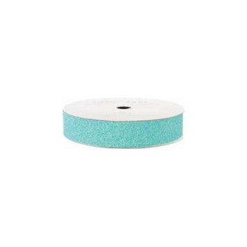 American Crafts ACGT96027 Glitter Paper Tape 3 YardsSpoolAqua .625 in.