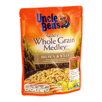 Uncle Ben's Ready Whole Grain Medley Brown & Wild