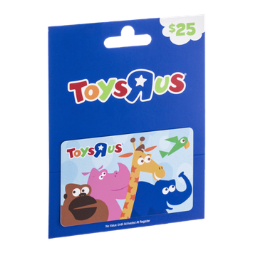 Toys R Us Gift Card $25