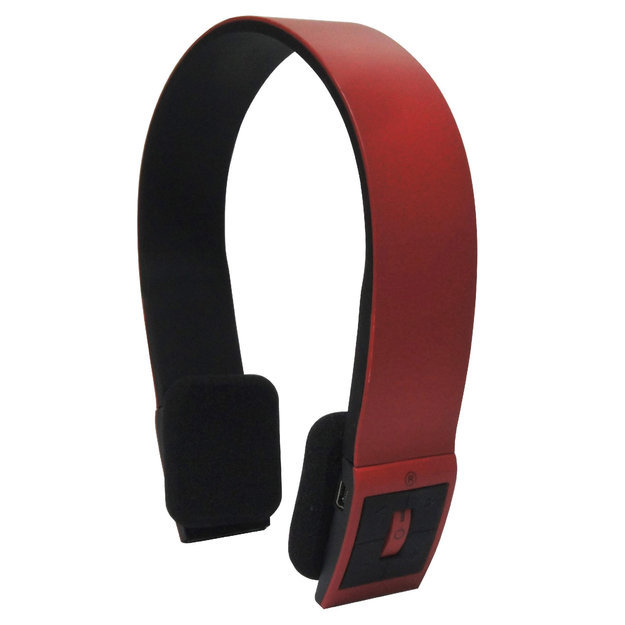 Inland inland 87096 Supra-aural ProHT Bluetooth Headset (Red)