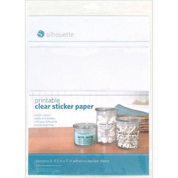 Silhouette Of America Silhouette Printable Sticker Paper 8.5