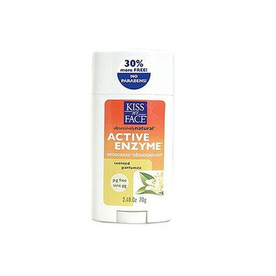 Kiss My Face Active Enzyme Stick Deodorant - Scented, 2.48 oz