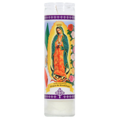 DOLLAR GENERAL Religious Cand Virgin of Guadalupe