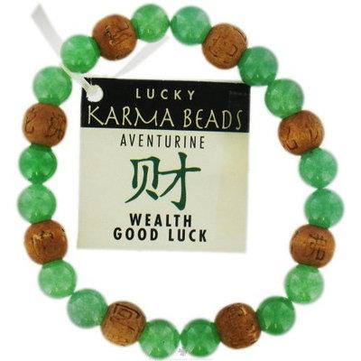Zorbitz - Karmalogy Lucky Karma Beads Bracelet Aventurine Wealth & Good Luck
