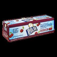 Polar 100% Natural Seltzer Black Cherry - 12 CT