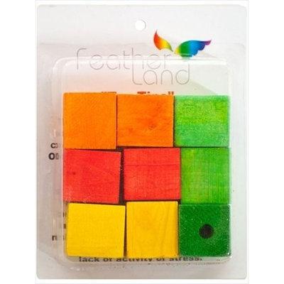 Caitec Corporation Caitec 578 1 1/2 in. x 1 1/2 in. Wood Blocks - Pack of 9