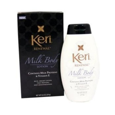 Keri Renewal Milk Body Lotion, Contains Milk Proteins and Vitamin E 8.5 oz (241 g)