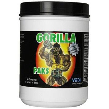 Vital Vitol Gorilla Paks, 30-Count Tubs