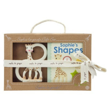 Vulli Sophie the Giraffe Shapes Book and Teether