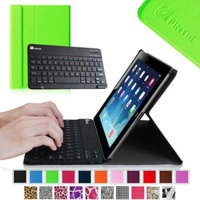 Fintie Wireless Bluetooth Keyboard Case for Apple iPad 4th Generation with Retina Display, iPad 3 & iPad 2, Green