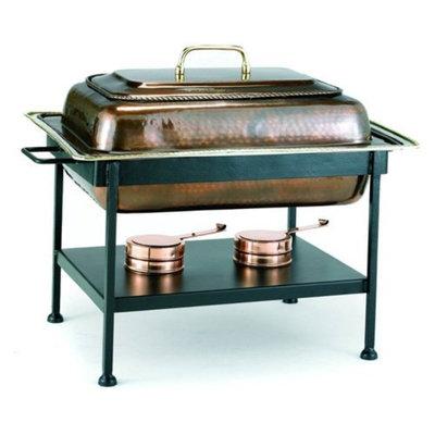 Old Dutch 842 Rectangular Antique Copper Chafing Dish