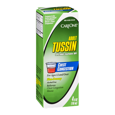 CareOne Adult Tussin Expectorant Non-Drowsy