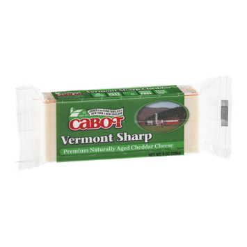 Cabot Premium Naturally Aged Cheddar Cheese Vermont Sharp