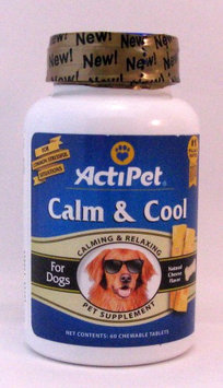 Calm & Cool Cheese Flavor ActiPet 60 Chewable