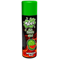 Wet Lubricant Wet Fun Flavors 4 In 1 Warming Water Based Lubricant, Watermelon Blast, 4.1 Ounce