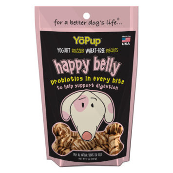 YoPup Happy Belly Probiotic Blend Dog Treat