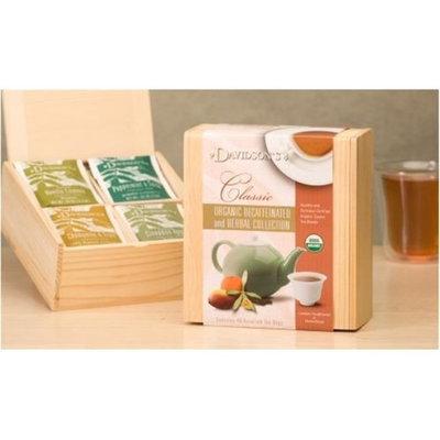 Davidson's Tea Davidson Organic Tea 629 Collection Chest Decaffeinated And Herbal Tea