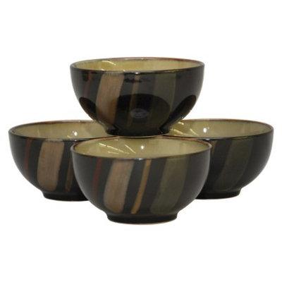 Sango Avanti Black S/4 Ice Cream Bowls