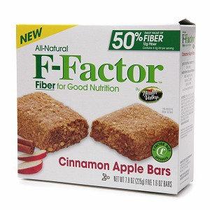 F-Factor Cinnamon Apple Bars