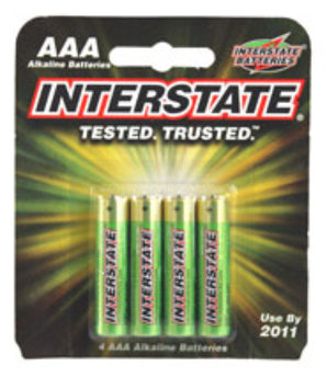 Interstate All Battery Interstate AAA Battery 4-Pack