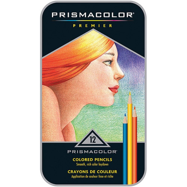 Sanford Prismacolor Premier Colored Pencils Set