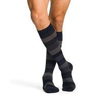 Sigvaris Midtown Microfiber 822CXXM99 20-30 mmHg Mens Calf Extra Large Foot Extra Long - Black