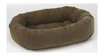 Bowsers Donut Dog Bed In Houndstooth - Size: Large (42