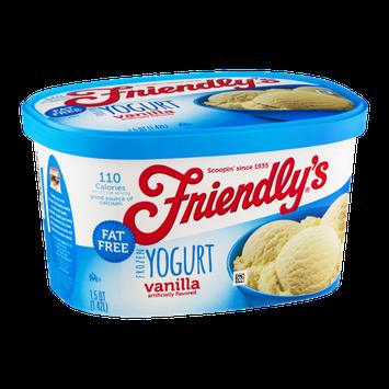 Friendly's Frozen Yogurt Vanilla