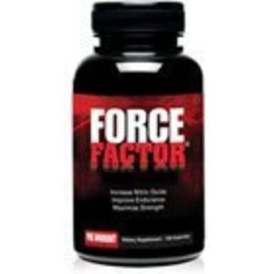 Force Factor Pre Workout Capsules, 120 Count