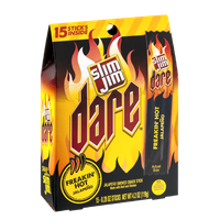Slim Jim Dare Freakin' Hot Jalapeno Snack Sticks