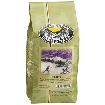 Vail Mountain Coffee & Tea Nordic Blend Ground Coffee, 12-Ounce Bags (Pack of 3)