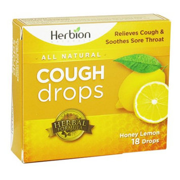 Herbion All Natural Cough Drops (Honey Lemon) - 18 Drops