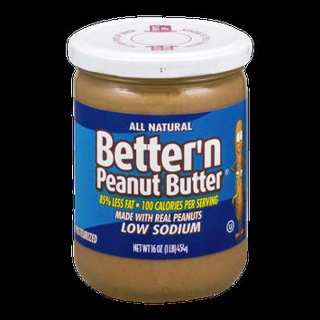 Better 'n Peanut Butter Low Sodium