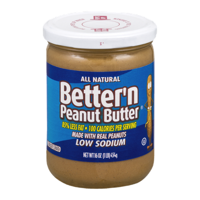 Better 'n Peanut Butter Low Sodium