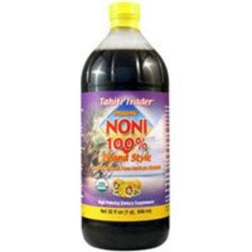 Tahiti Traders Organic Noni 100% Island Style 32 oz